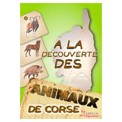 Plaquette enfant: À la découverte des animaux des Corse