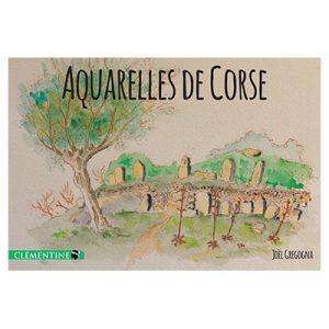 Aquarelles de Corse - Joël GREGOGNA recto