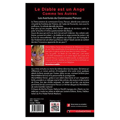Le diable est un ange comme les autres – Saga Pierucci – Tome 7 - Marie-Hélène FERRARI verso