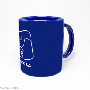 MUG bleu Collection Filitosa V face cote
