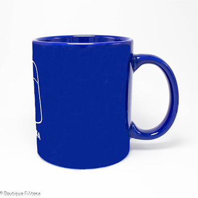 MUG bleu Collection Filitosa V cote