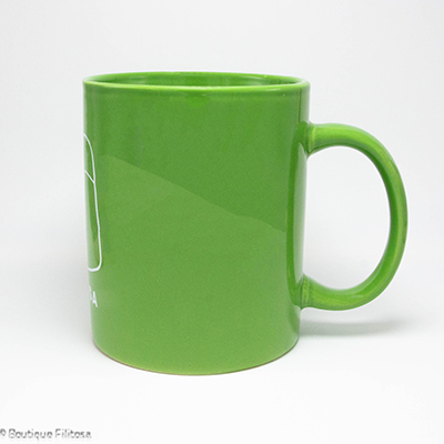 MUG vert Filitosa V côté