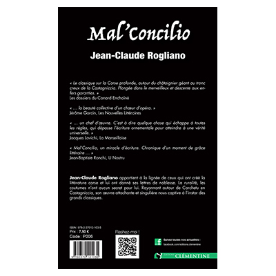 Mal'concilio - Jean-Claude Rogliano verso